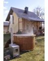 Fiberglass hot tub 160cm