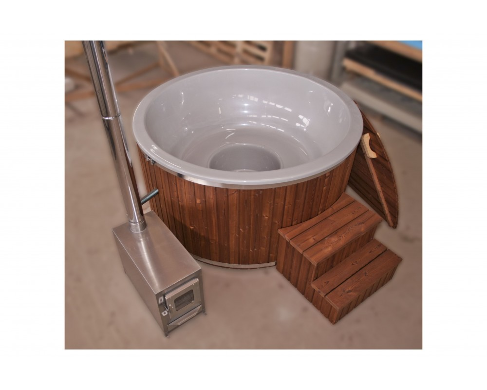 NEW !!! Pearly Hot tub fibreglass