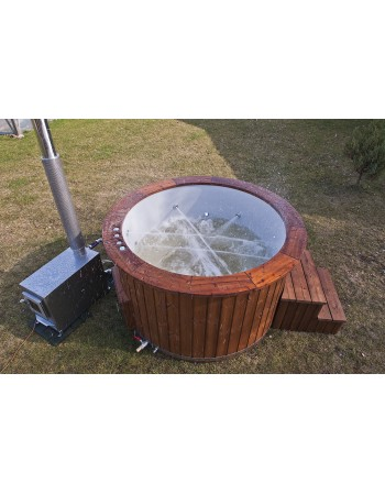 Fiberglass hot tub 160cm