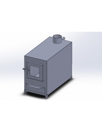 Outside stove 28 Kw, Stainless Steel AISI 430