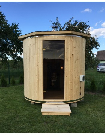 "Outdoor sauna ""Barrel"""