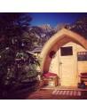 Iglu shape sauna