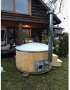 1,8 ROYAL WELLNESS tub with larch trim