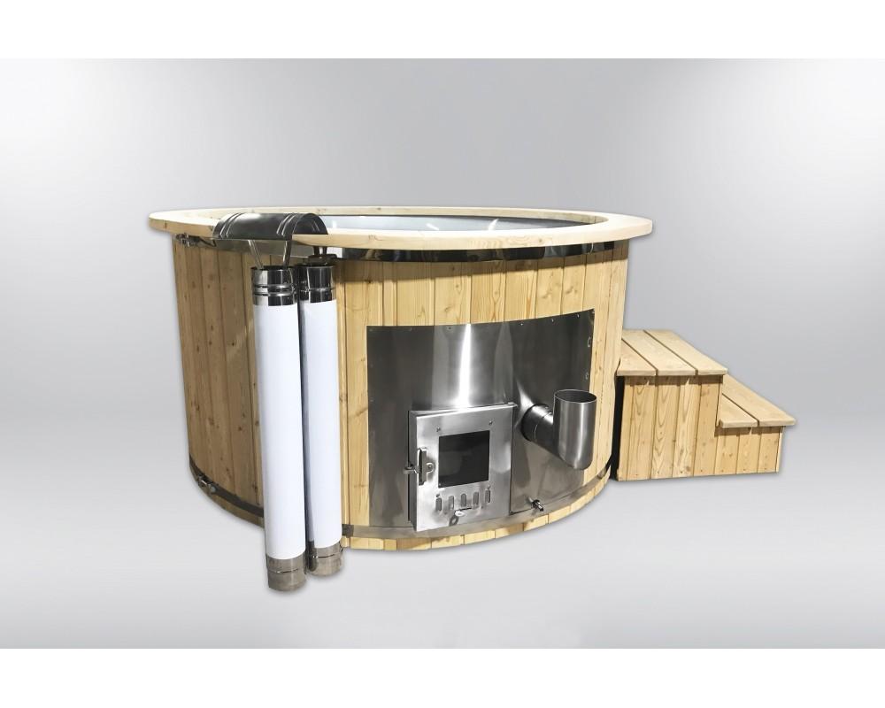 Royal 180cm hot tub from fiberglass