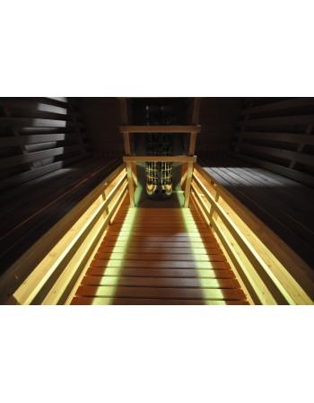 LED sauna inside lighting