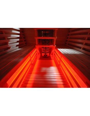 LED lighting for SAUNA
