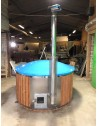 Hot tub made of blue fiberglass 1,8 m