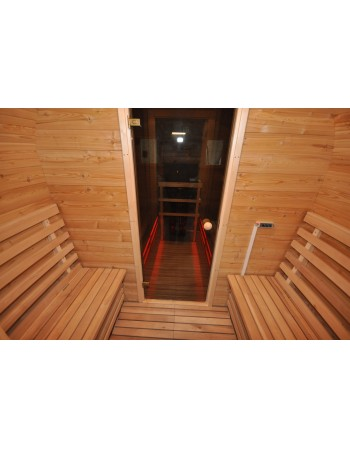 thermal insulation of sauna walls