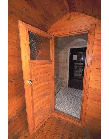 anteroom in sauna